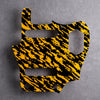 Tiger Tide - Jaguar Pickguard - Yellow on Black Acrylic