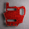 Tort Mars Red - Jaguar Pickguard - 4-ply Celluloid