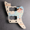 Island Girl- Jazzmaster Pickguard - in Ivory (Limited Edition)