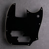Black/Cream/Black - Mustang PJ Bass Pickguard - 3-ply Vinyl