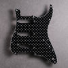 Four Thousand Holes - Stratocaster Pickguard - Black/White/Black