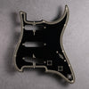 Streamline - Stratocaster Pickguard and Trem Cover - Black/Cream/Black