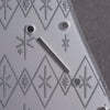 Maybellene - Stratocaster Pickguard and Trem Cover - Metallic Silver on Silver Acrylic
