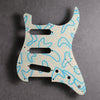 Boomerangs - Stratocaster Pickguard - Ivory