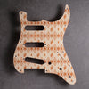 Maybellene - Stratocaster Pickguard and Trem Cover - Copper on Ivory Acrylic