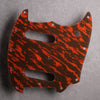 Tiger Tide - Mustang S/S Pickguard [Offset Series] - Mars Red on Brown Acrylic