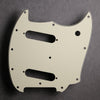 Mint/Black/Mint - Mustang S/S Pickguard [Offset Series] - 3-ply Vinyl
