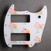 Mustang 90 Pickguard [Offset Series] - Key West on White
