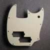 Mustang PJ Bass Pickguard - Mint/Black/Mint - 3-ply Vinyl