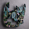 Spawn of Paisley - Mustang Bass PJ Pickguard - on Black Acrylic