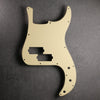 Precision Bass Pickguard - 13-hole - Cream/Black/Cream - 3-ply Vinyl