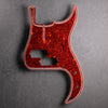 Streamline - Precision Bass Pickguard - 13-hole - Tort Mars Red - 4-ply Celluloid