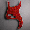 Precision Bass Pickguard - 13-hole - Tort Mars Red - 4-ply Celluloid