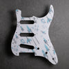 Rocket 88 - Stratocaster Pickguard - White