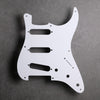 White - Stratocaster Pickguard - Single-ply Vinyl