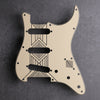 Broken Arrow - Stratocaster Pickguard - Cream/Black/Cream