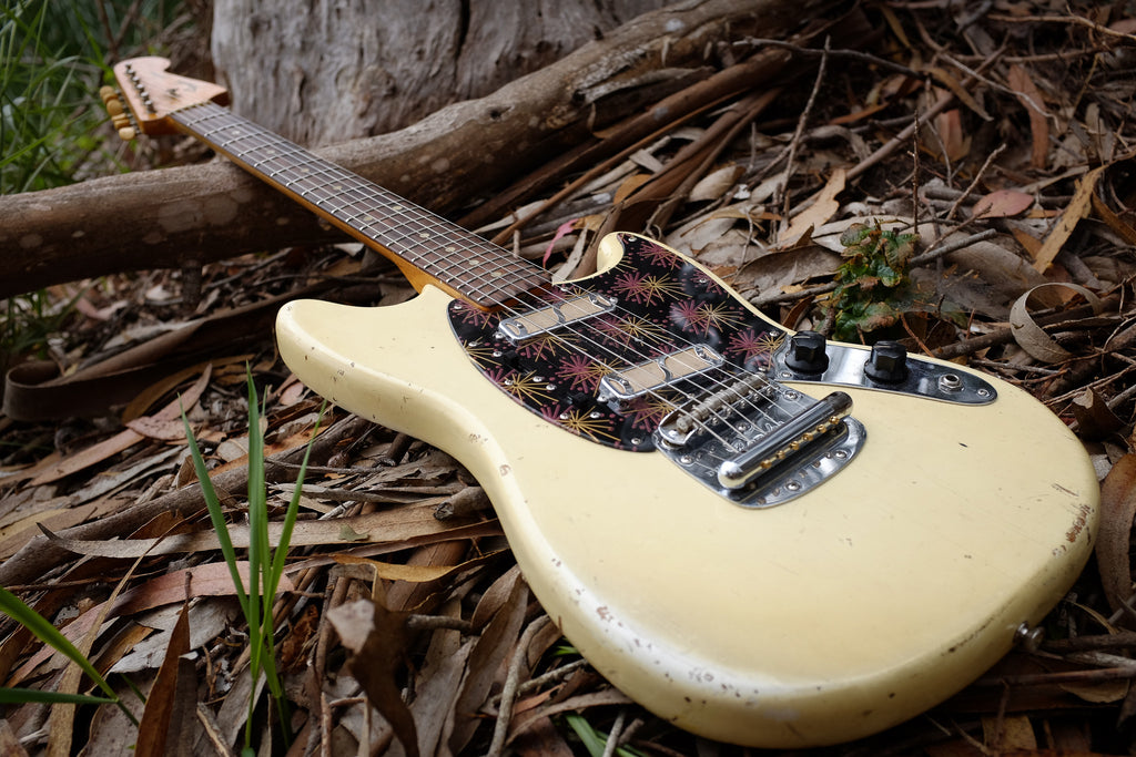 ngd vintage fender mustang with dearmond goldfoil pickups the gear page. Black Bedroom Furniture Sets. Home Design Ideas