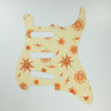 Atomic Age - Stratocaster Pickguard - Copper on Ivory