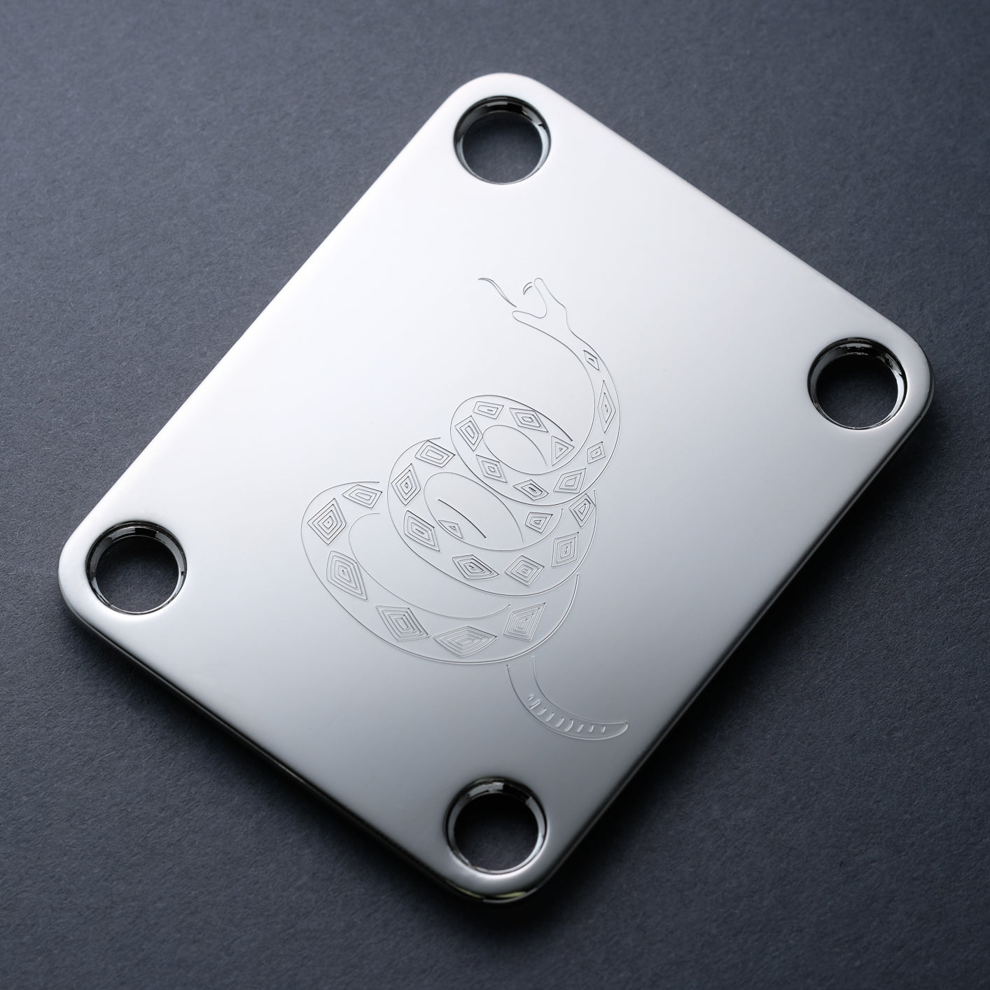 DON'T TREAD - Engraved Neckplate