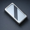 The Stripe - Humbucker Cover - Chrome Trim - Black on Silver Face