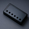 Banded - Humbucker Cover - Black Trim - Metallic Black on Black Face