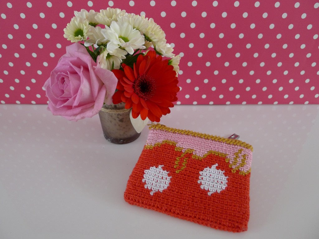 Oilily-look-like Mini Etui Haakpatroon