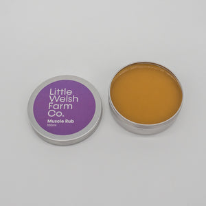Welsh organic muscle rub made from organic ingredients for fitness enthusiasts