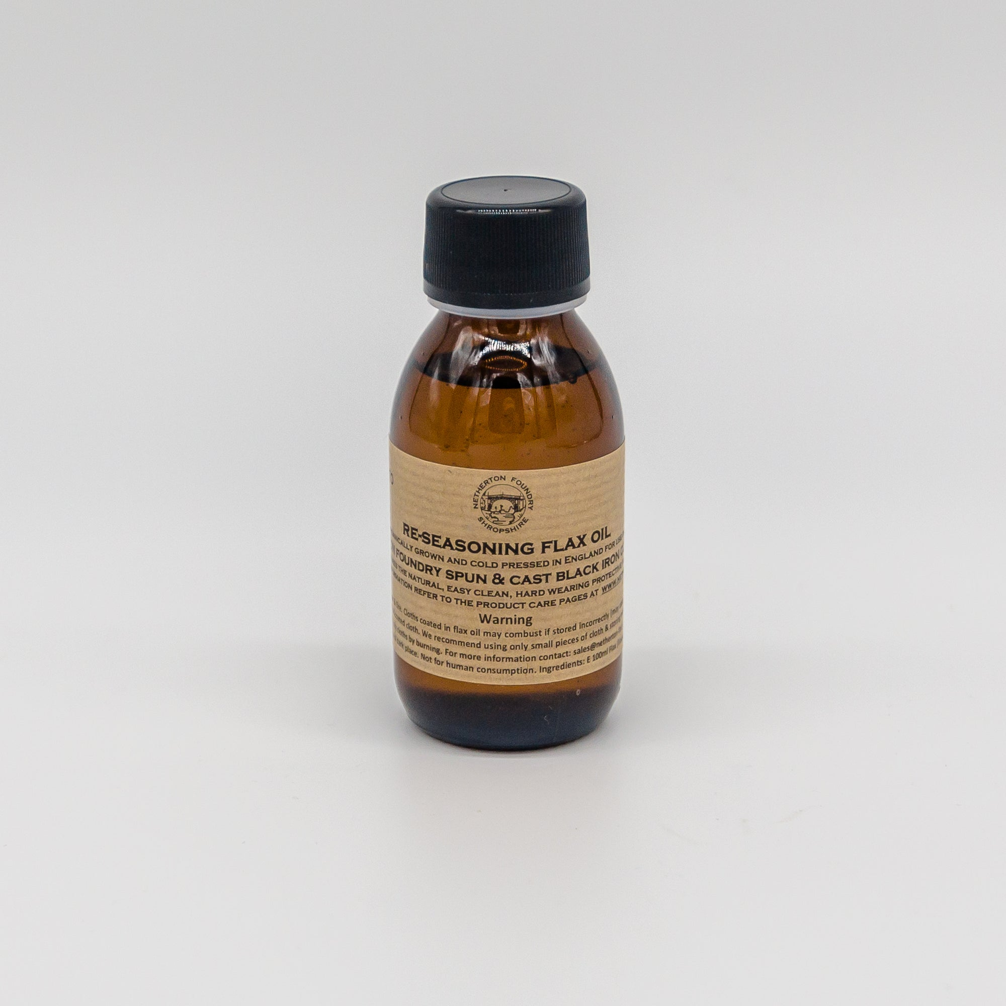 Netherton Foundry Flax oil 100ml
