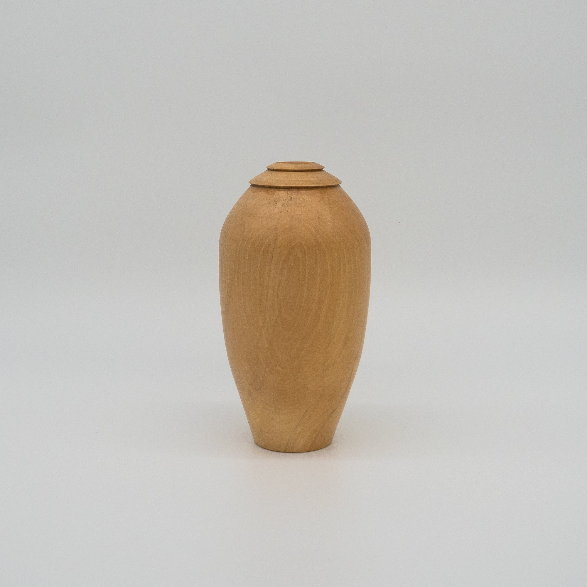 Hand Turned wooden flower vase