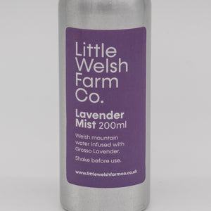 little welsh farm co lavender mist spray. The perfect organic natural hydrosol to help with the perfect nights sleep.