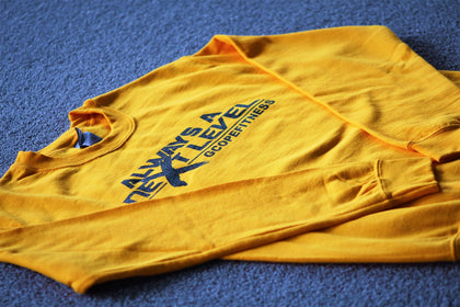 Gold NLB Crew Neck