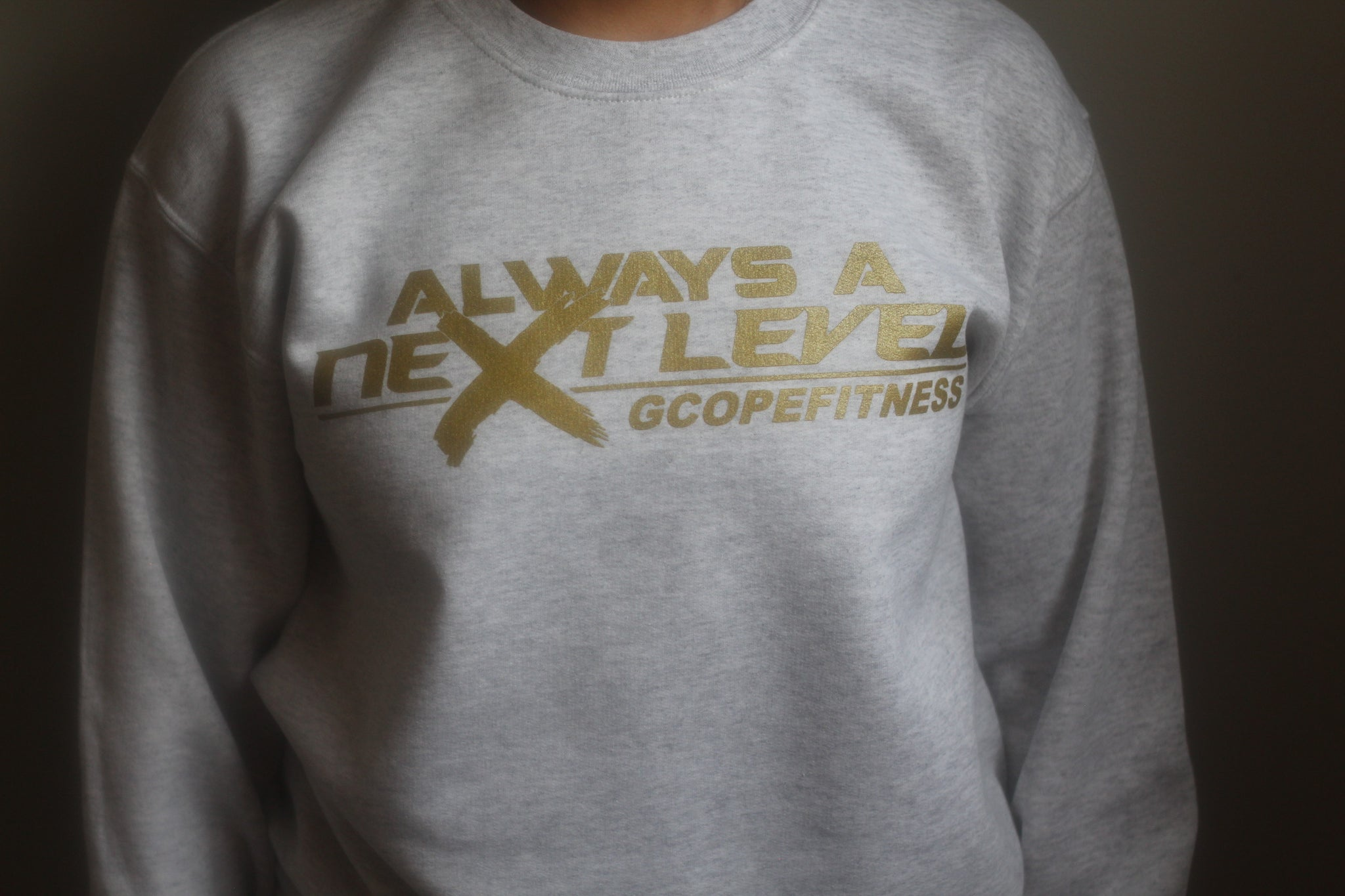 Grey NLB Crew Neck