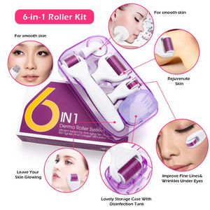 Load image into Gallery viewer, 6-in-1 Microneedling Derma Roller Set
