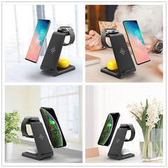 3 in 1 Wireless Charger /3 in 1 Charging Dock