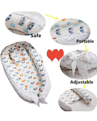 Baby nest co-sleeping Baby nest bed Australia, baby lounger Australia baby lounger nest Newborn Baby Nest - Easy to Move, Ideal for Co-Sleeping, Breathable and Soft, 100% Cotton and Eco-Friendly co-sleeper  Baby Nest and Pillow Set