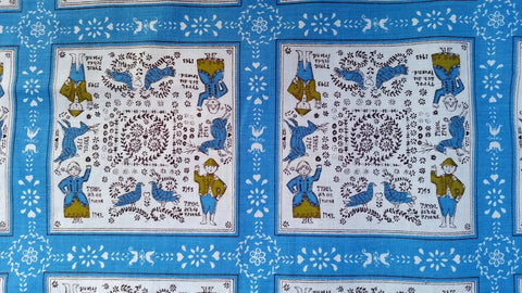 Tyrol 1743 - Cotton - Vintage Novelty Fabric - VCW786