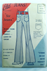 1972 - Sir Jeans - Mens Pant Jeans - Vintage Sewing Pattern - Size 32-40 - Else 400