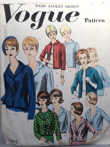 Vogue - Vintage Sewing Pattern  - Women Jacket - Size 18 - 3007