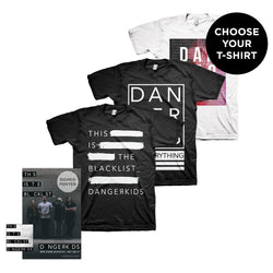 blacklist_ Album + T-Shirt + Signed Poster
