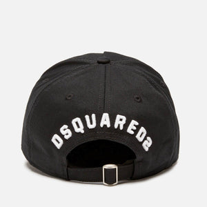 Dsquared2 ICON Logo Cap in Black-White
