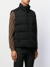 Load image into Gallery viewer, FENDI BACK LOGO GILET IN BLACK