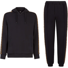 Load image into Gallery viewer, FENDI FF TRACKSUIT SET IN BLACK