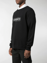 Load image into Gallery viewer, GIVENCHY PARIS OUTLINE SWEATSHIRT IN BLACK