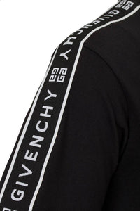 GIVENCHY 4G TAPE TEE IN BLACK