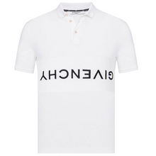 Load image into Gallery viewer, GIVENCHY REVERSE LOGO POLO IN WHITE