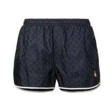 Load image into Gallery viewer, GUCCI GG BEE SWIM SHORTS IN NAVY