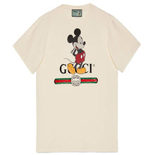 Load image into Gallery viewer, DISNEY X GUCCI MICKEY MOUSE TEE IN OFF-WHITE