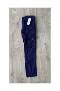 CP COMPANY - PURPLE CARGO PANTS