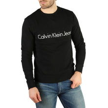 Load image into Gallery viewer, Black Cotton Sweatshirt with Print Pattern