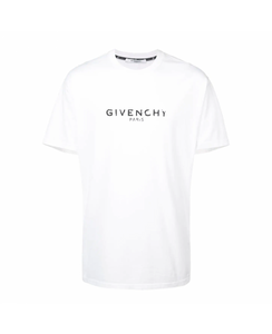 GIVENCHY PARIS OVERSIZED T-SHIRT IN WHITE